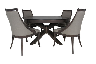 the BDM  transitional C-1399TC dining room dining chair is available in Edmonton at McElherans Furniture + Design