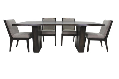 the BDM  transitional TBBLE-4250 dining room dining table is available in Edmonton at McElherans Furniture + Design