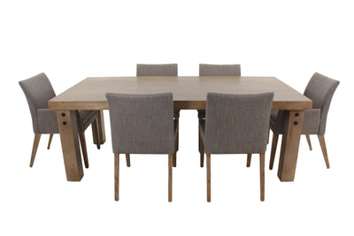 the BDM  transitional TBERE-0350 637 dining room dining table is available in Edmonton at McElherans Furniture + Design