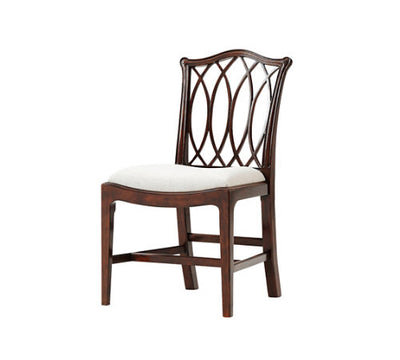 the Theodore Alexander  classic 4000-566 dining room dining chair is available in Edmonton at McElherans Furniture + Design