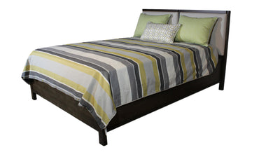 the Thomas Filicia bedroom bed coverings is available in Edmonton at McElherans Furniture + Design