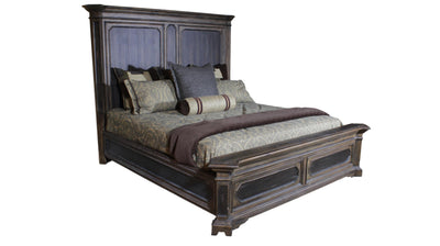 the Twain bedroom bed coverings is available in Edmonton at McElherans Furniture + Design
