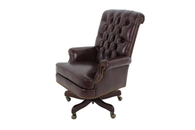 the Hancock & Moore  classic / traditional Berwind home office desk chair is available in Edmonton at McElherans Furniture + Design