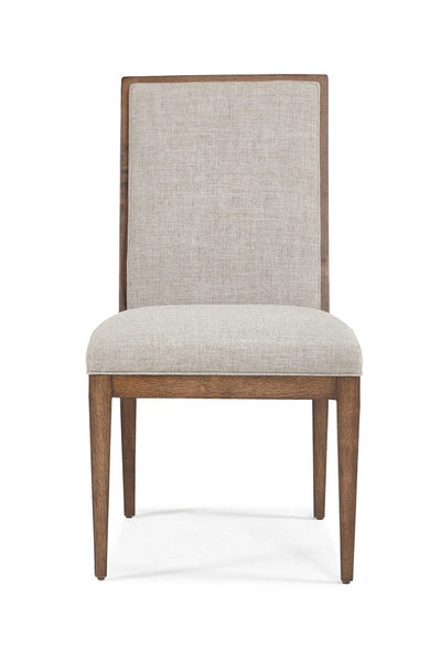 the Hickory White  transitional 841-64 dining room dining chair is available in Edmonton at McElherans Furniture + Design