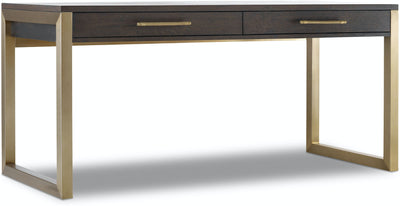the Hooker Furniture  transitional 1600-10453-DKW home office desk is available in Edmonton at McElherans Furniture + Design