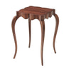 front view of The Theodore Alexander  classic KENO5002 living room occasional end table is available in Edmonton at McElheran's Furniture + Design