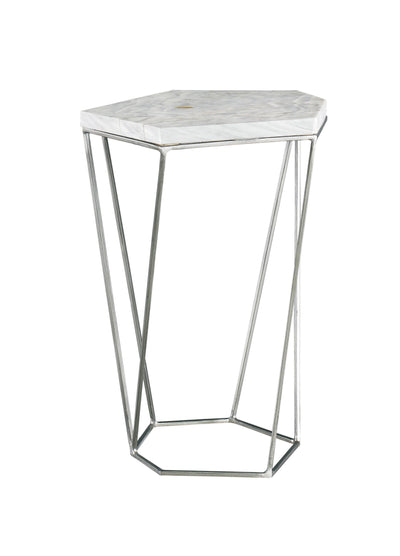 the Lillian August  contemporary Fiori living room occasional end table is available in Edmonton at McElherans Furniture + Design
