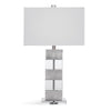 the Basset Mirror  contemporary  lamp table lamp is available in Edmonton at McElherans Furniture + Design
