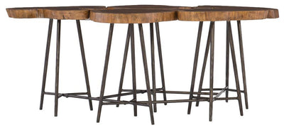 the Hooker Furniture  transitional 5708-50001 living room occasional cocktail table is available in Edmonton at McElherans Furniture + Design