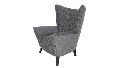 the Precedent  contemporary Lexi living room upholstered chair is available in Edmonton at McElherans Furniture + Design