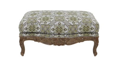 the Sherrill Furniture  classic / traditional 1183 living room upholstered ottoman is available in Edmonton at McElherans Furniture + Design