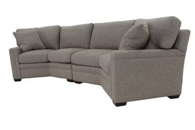 the Sherrill Furniture Design Your Own transitional 96LA/RA living room upholstered sectional is available in Edmonton at McElherans Furniture + Design