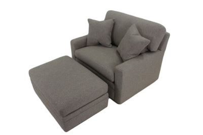 the Sherrill Furniture Design Your Own transitional 9710 living room upholstered ottoman is available in Edmonton at McElherans Furniture + Design