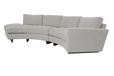 the Thayer Coggin  contemporary Clip living room upholstered sectional is available in Edmonton at McElherans Furniture + Design