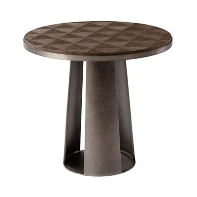 the Theodore Alexander  contemporary 5006-051 living room occasional end table is available in Edmonton at McElherans Furniture + Design