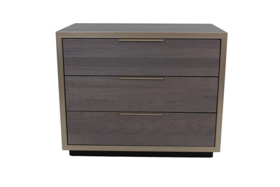the TH Solid Wood Evoke transitional 5012 bedroom night table is available in Edmonton at McElherans Furniture + Design