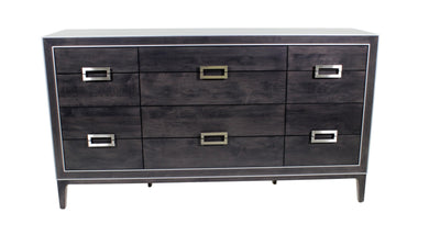 the TH Solid Wood Luxe transitional 8001 bedroom dresser is available in Edmonton at McElherans Furniture + Design
