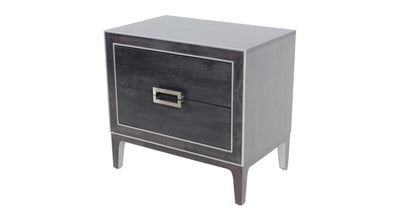 the TH Solid Wood Luxe transitional 8012 bedroom night table is available in Edmonton at McElherans Furniture + Design