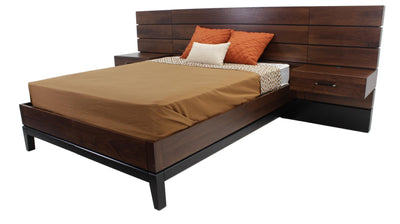 the TH Solid Wood Definity contemporary 1062W-SD bedroom bed is available in Edmonton at McElherans Furniture + Design