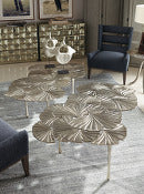 the Bernhardt Interiors contemporary Annabella living room occasional cocktail table is available in Edmonton at McElherans Furniture + Design