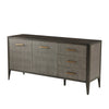 the Theodore Alexander  transitional TAS61003.C078 dining room buffet is available in Edmonton at McElherans Furniture + Design