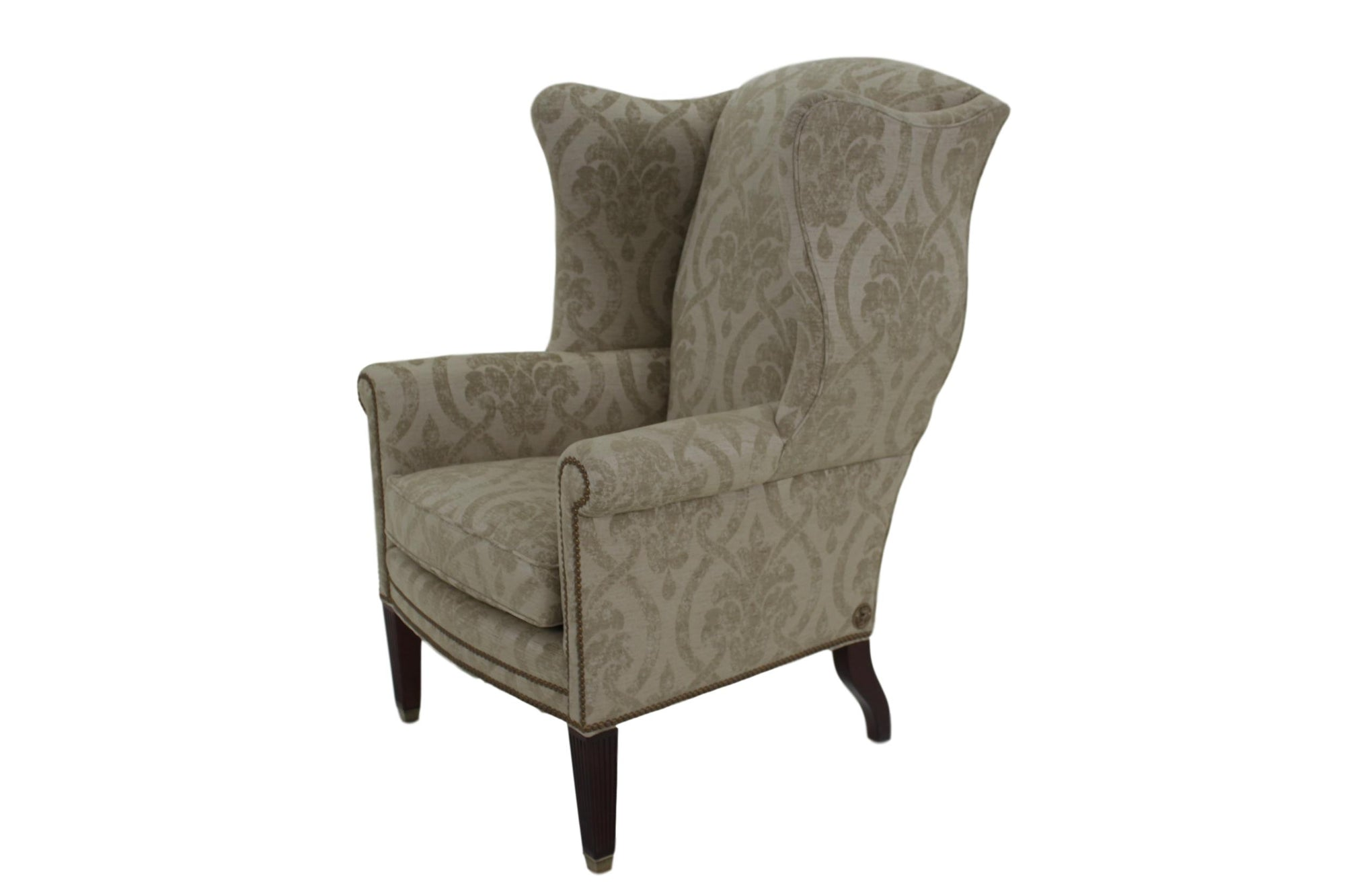 Althorp Wingback Chair Ottoman