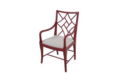 the Theodore Alexander  classic CF41004 dining room dining chair is available in Edmonton at McElherans Furniture + Design
