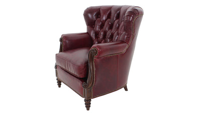 the Whittemore Sherrill  classic / traditional 2015-01 living room leather upholstered chair is available in Edmonton at McElherans Furniture + Design