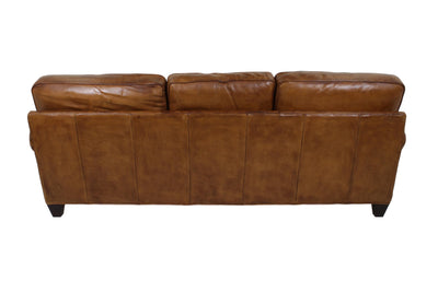 the Whittemore Sherrill  classic / traditional 464-03 living room leather upholstered sofa is available in Edmonton at McElherans Furniture + Design