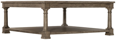 the Bernhardt Canyon Ridge classic / traditional 397-011 living room occasional cocktail table is available in Edmonton at McElherans Furniture + Design