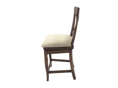 the BDM  transitional BSS-1224C dining room bar stool is available in Edmonton at McElherans Furniture + Design