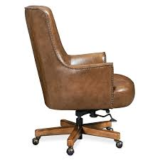 the Hooker Furniture  transitional Malvot home office desk chair is available in Edmonton at McElherans Furniture + Design
