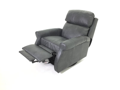 the Comfort Design  classic / traditional Leslie III living room reclining leather recliner is available in Edmonton at McElherans Furniture + Design