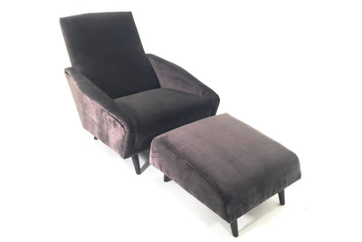 the Precedent  contemporary Stella living room upholstered chair is available in Edmonton at McElherans Furniture + Design