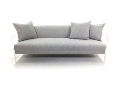 Bernhardt Interiors contemporary Phoenix living room upholstered sofa
