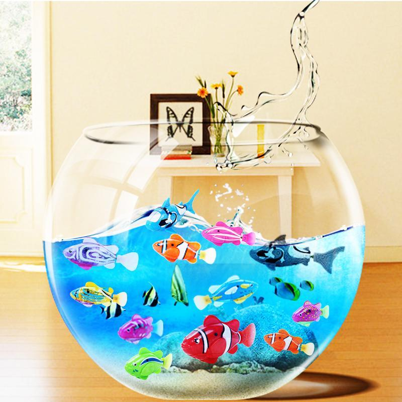 Robot Fish- Poisson interactif (4 pieces/lot) - MiniPrixShop.com