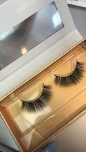 Load image into Gallery viewer, Bora Bora Eyelashes. Natural beauty & makeup enhancer. Fluffy, full, medium length false lashes. Quick & easy. Eyelash extension alternative.