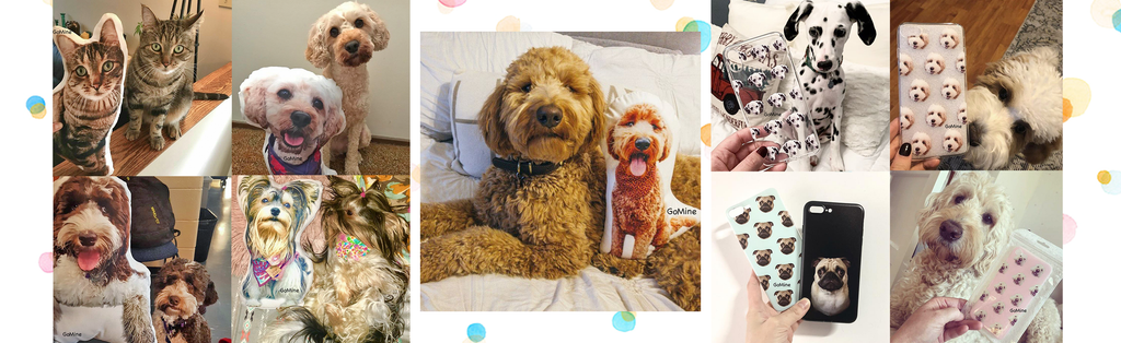GoMine | Custom Pet Pillow, Phone Case