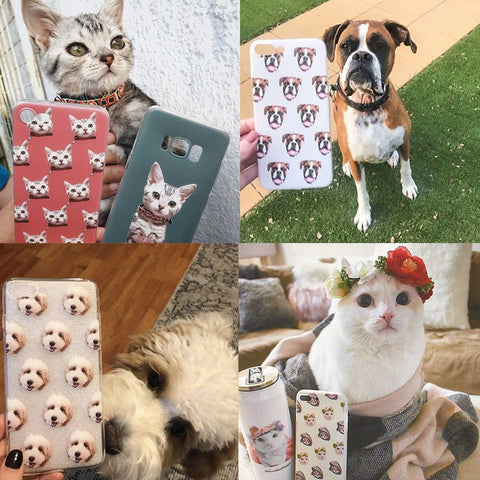 Custom Pet Photo Phone Case_GoMine