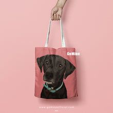 Custom Pet Portrait Tote Bags - GoMine