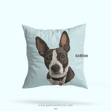 Custom Pet Portrait Pillows