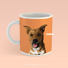 Custom Pet Portrait Mugs - GoMine