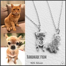 Custom Pet Photo Necklace