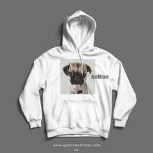 Custom Pet Portrait Hoodie (White) - GoMine