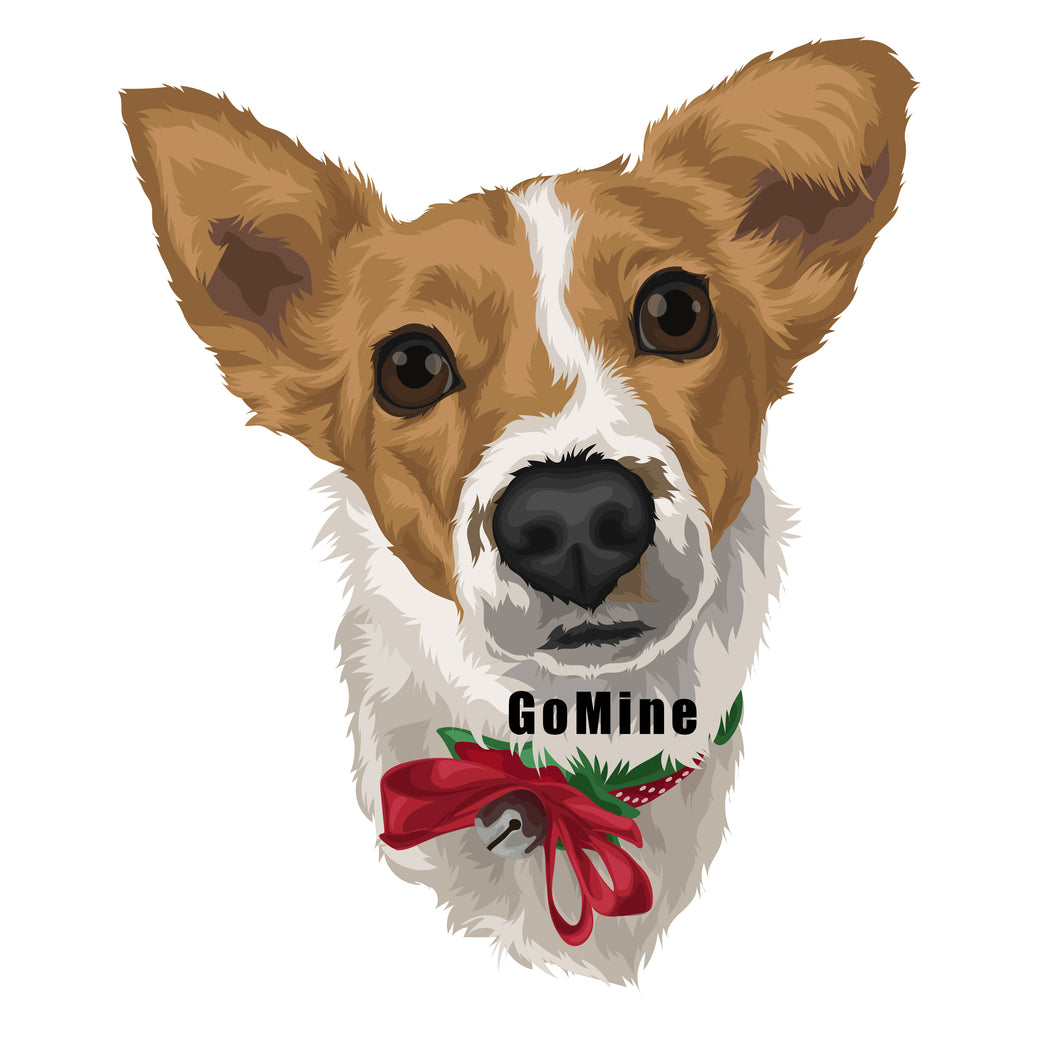 Pet Portrait Digital File - GoMine