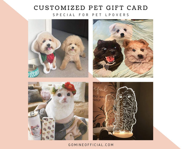 Pet Lover Gift Card - GoMine