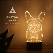 Customized LED Dog and Cat Lamps