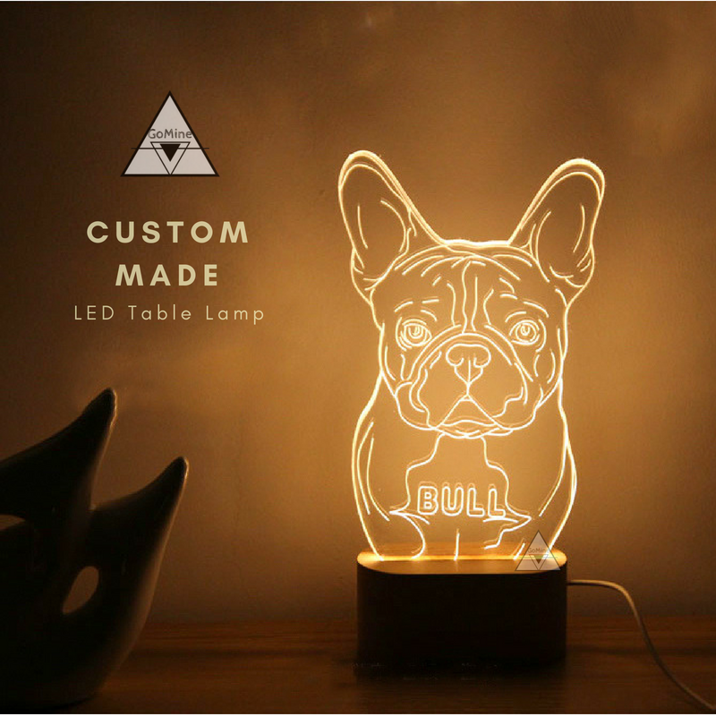 f3592ab610fe Customized LED Dog and Cat Lamps | GoMine