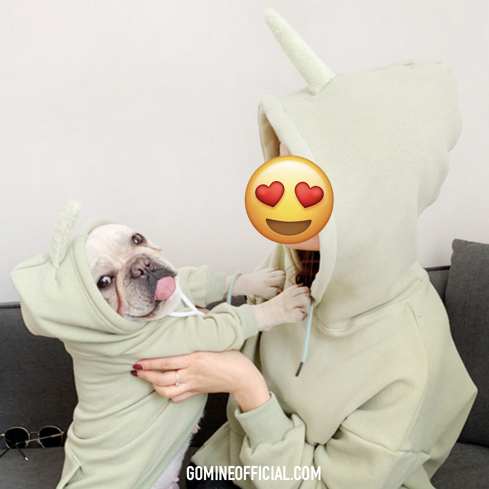 Matching Dog and Owner Teletubbies Fleece Hoodie - GoMine
