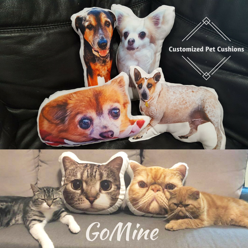 Custom Pet Photo Pillows Cushions For Pet Lovers Gomine